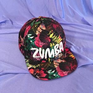 Zumba Floral Snapback Hat